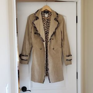 ABS by Stuart Schwartz trench coat. Small petite